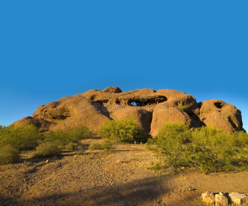 Parque de Papaogo en Phoenix, AZ foto de archivo libre de regalías
