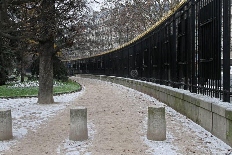 Parque de Paris imagens de stock