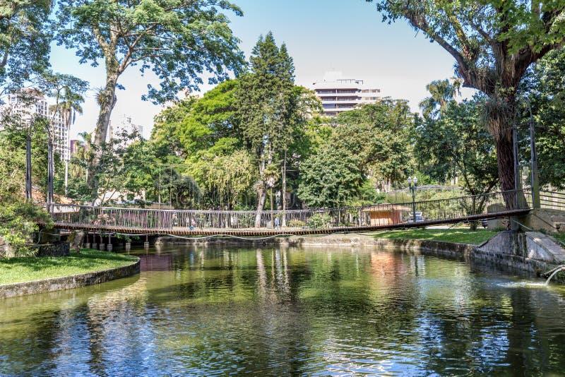 Parque de Passeio Publico Curitiba, estado de Parana - Brasil imagens de stock royalty free