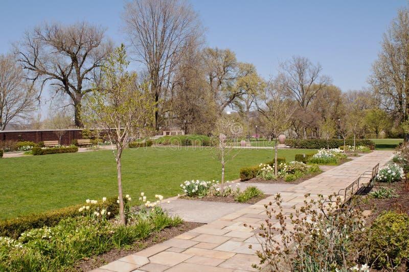 Parque de PITTSBURGH, PENSILVÂNIA, EUA 4-30-2018 Mellon imagem de stock royalty free