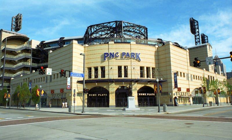Parque de PNC - piratas de Pittsburgh fotos de archivo libres de regalías