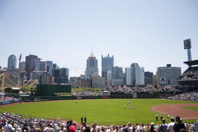 Parque de PNC, Pittsburgh fotografia de stock