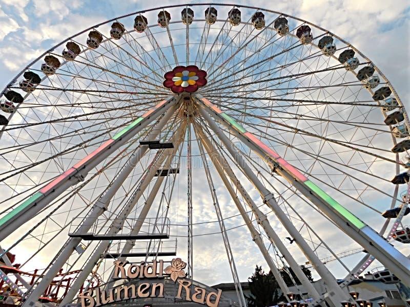 Parque de Prater, roda de Ferris fotografia de stock royalty free