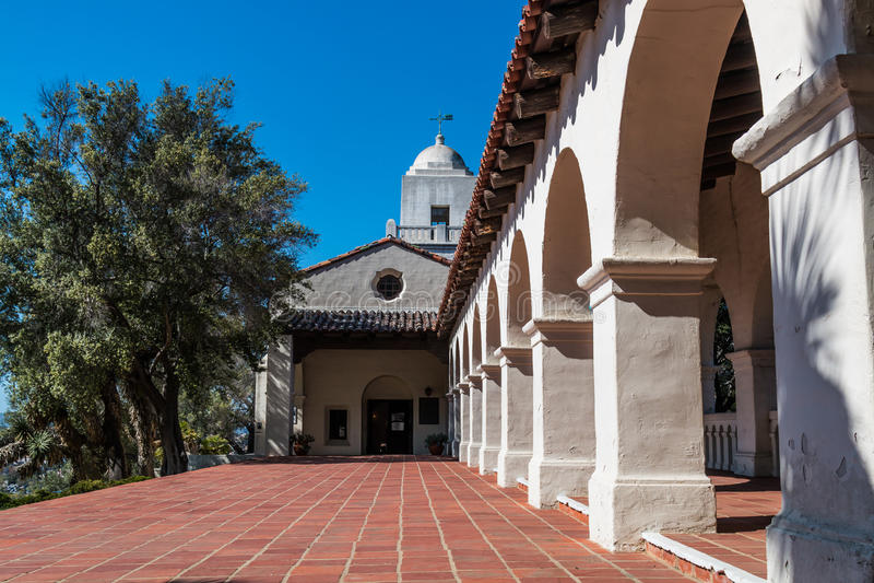 Parque de Presidio na cidade velha, San Diego imagens de stock royalty free