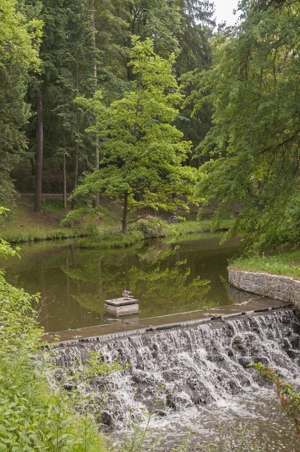 Parque de Pruhonice fotografía de archivo