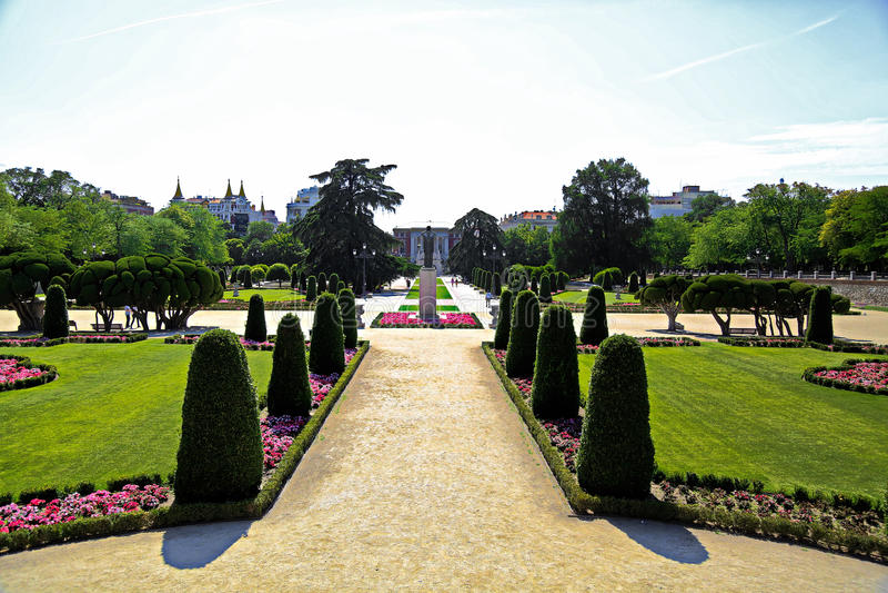 Parque de Retiro, Madrid foto de stock royalty free