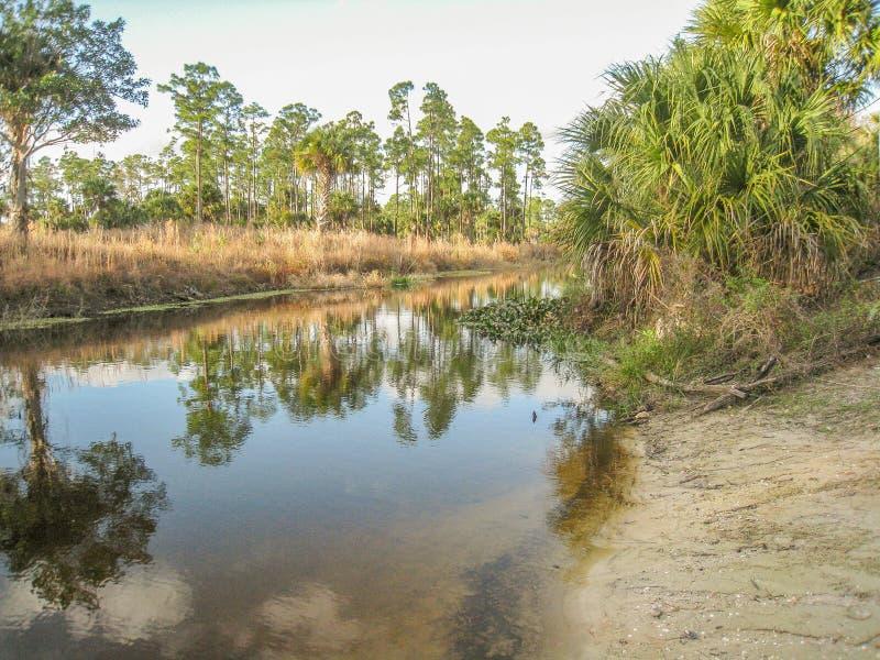 Parque de Riverbend en Júpiter, la Florida fotografía de archivo