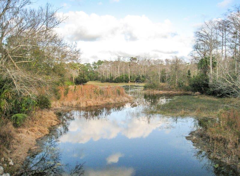 Parque de Riverbend en Júpiter, la Florida foto de archivo