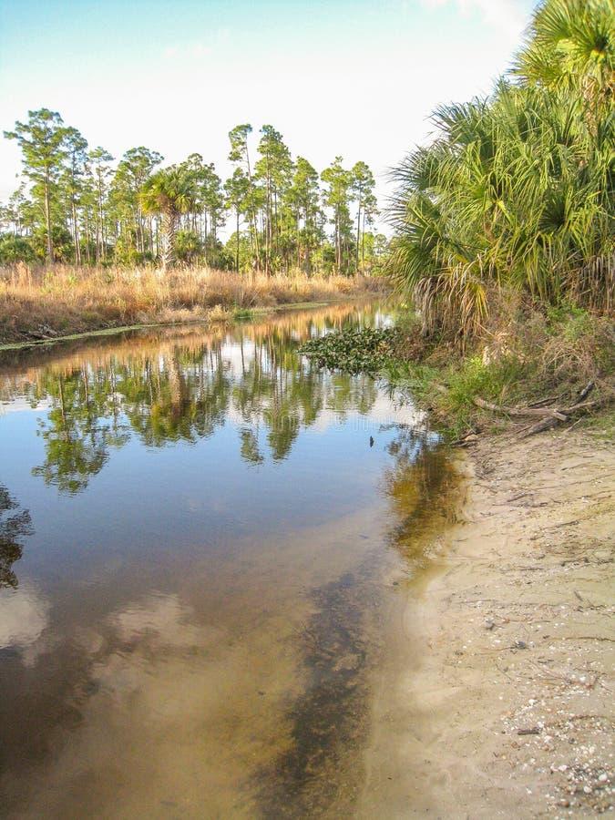 Parque de Riverbend no Júpiter, Florida foto de stock royalty free