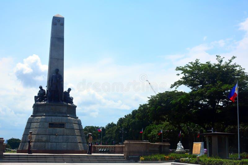 Parque de Rizal en Manila, Filipinas fotos de archivo