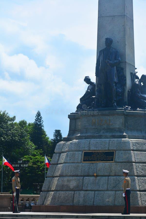 Parque de Rizal en Manila, Filipinas fotografía de archivo