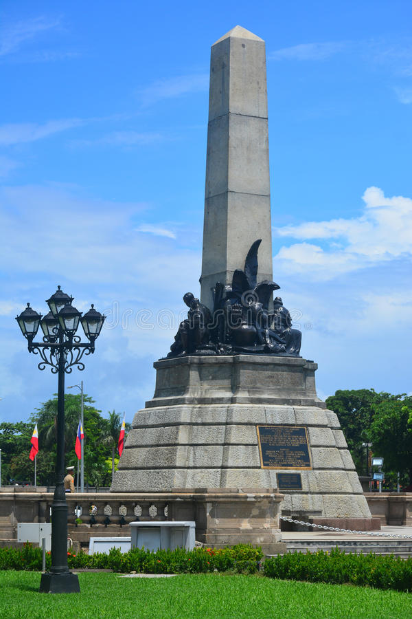 Parque de Rizal en Manila, Filipinas imagenes de archivo