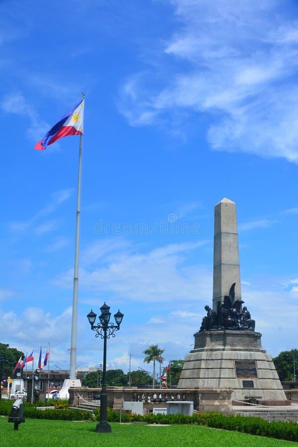 Parque de Rizal en Manila, Filipinas foto de archivo