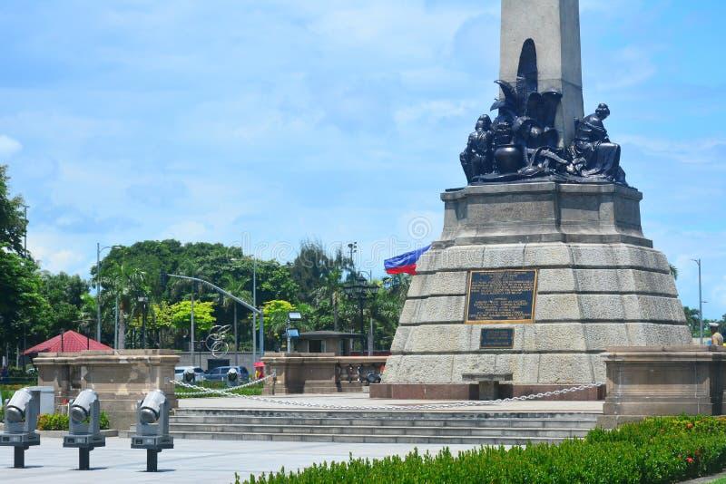 Parque de Rizal en Manila, Filipinas imagen de archivo