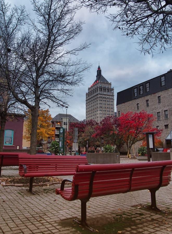 Parque de Rochester fotografía de archivo libre de regalías