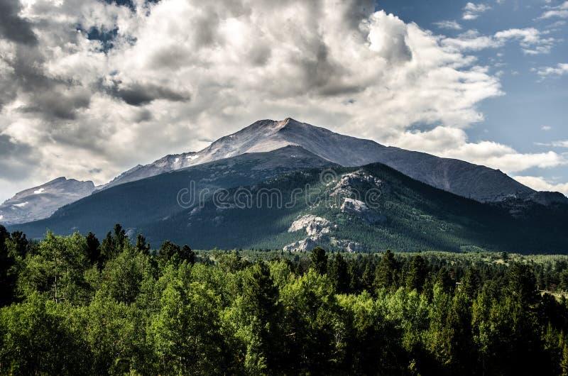 Parque de Rocky Mountain National Park Estes, Colorado imagenes de archivo