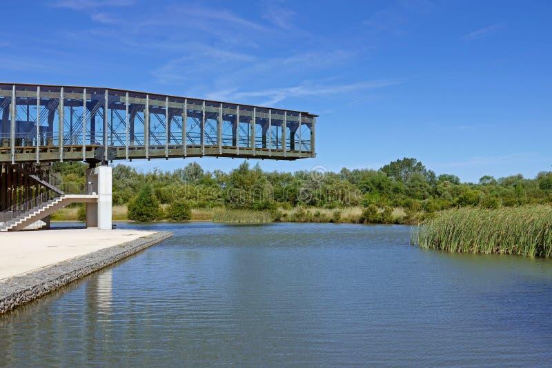 Parque de Salburua, Vitoria-Gasteiz spain fotografia de stock royalty free
