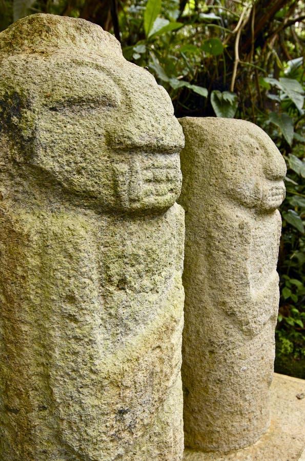 Parque de San Agustin Archaelogical - Colombia fotografía de archivo libre de regalías