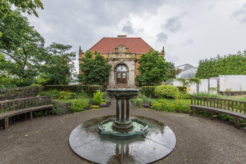 Parque de Schenley al lado de la universidad de estado de Pittsburgh en Pittsburgh, fotos de archivo libres de regalías