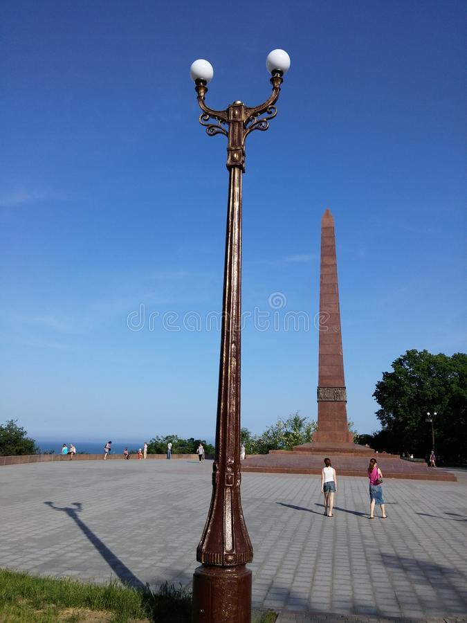 Parque de Schevchenko fotografia de stock