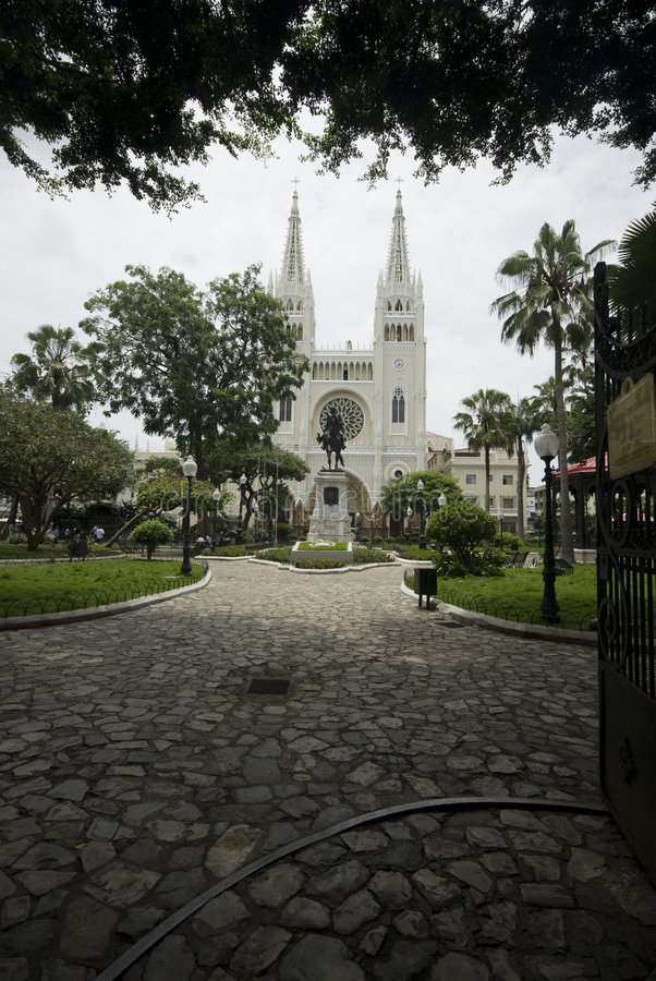 Parque de Simon Bolivar imagem de stock royalty free