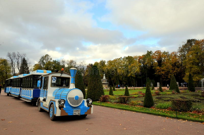 Parque de St Petersburg, Rússia fotos de stock