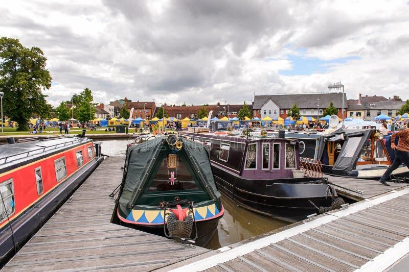 Parque de Stratford em Avon, Inglaterra, Reino Unido imagens de stock royalty free
