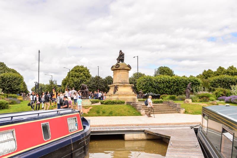 Parque de Stratford em Avon, Inglaterra, Reino Unido foto de stock royalty free