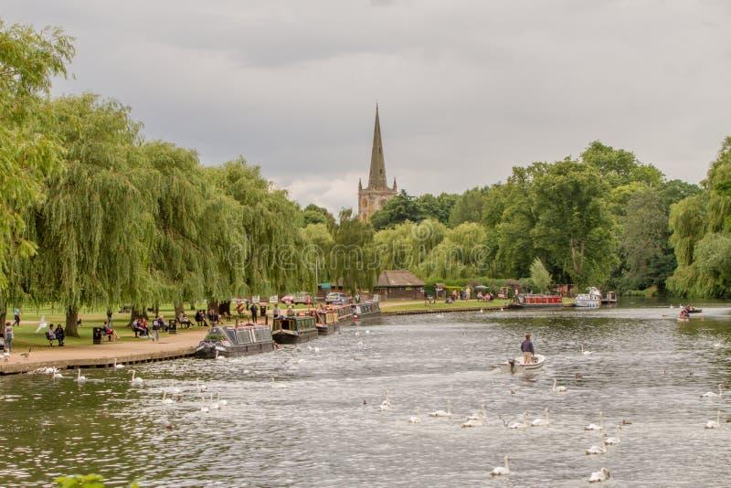 Parque de Stratford-Em cima-Avon imagem de stock royalty free
