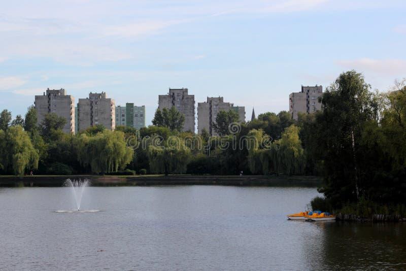 Parque de Swietochlowice fotos de archivo