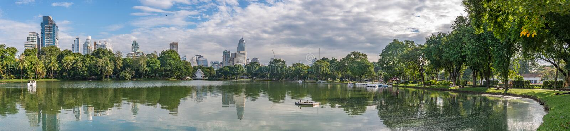 Parque de Tailandia Lumpini foto de archivo libre de regalías