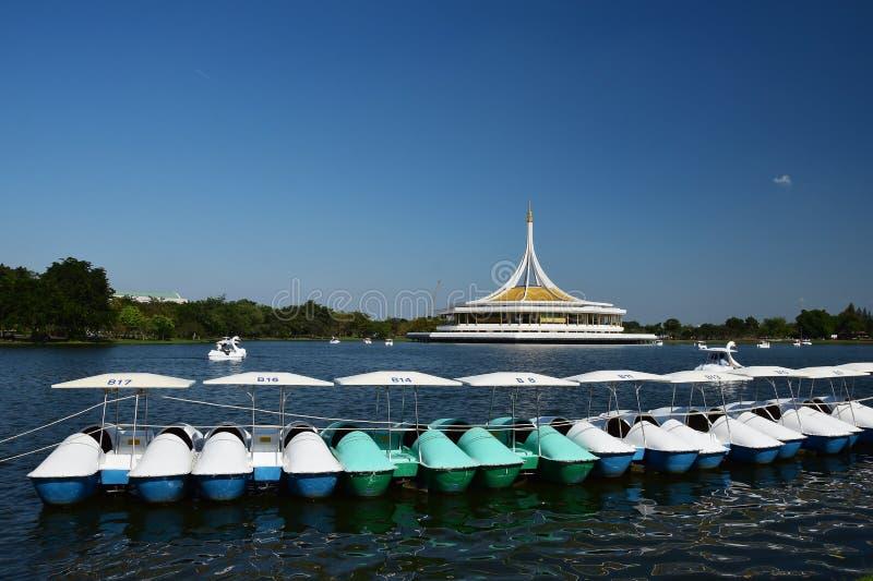 Parque de Tailandia, parque público de Suan Luang Rama 9 fotos de archivo