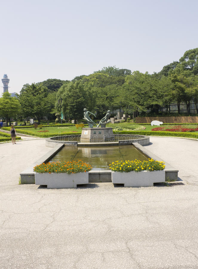 Parque de Tennoji fotos de archivo libres de regalías