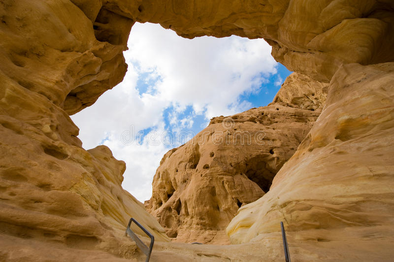 Parque de Timna foto de stock royalty free
