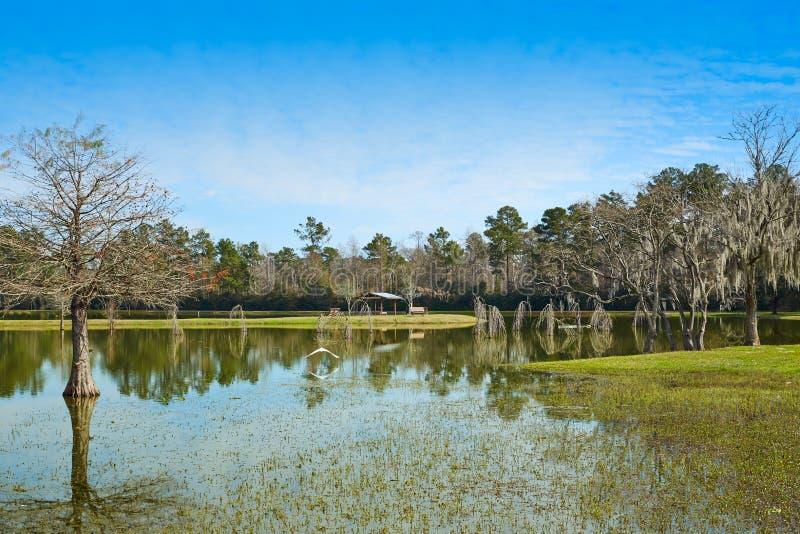 Parque de Tomball Burroughs em Houston Texas fotos de stock royalty free