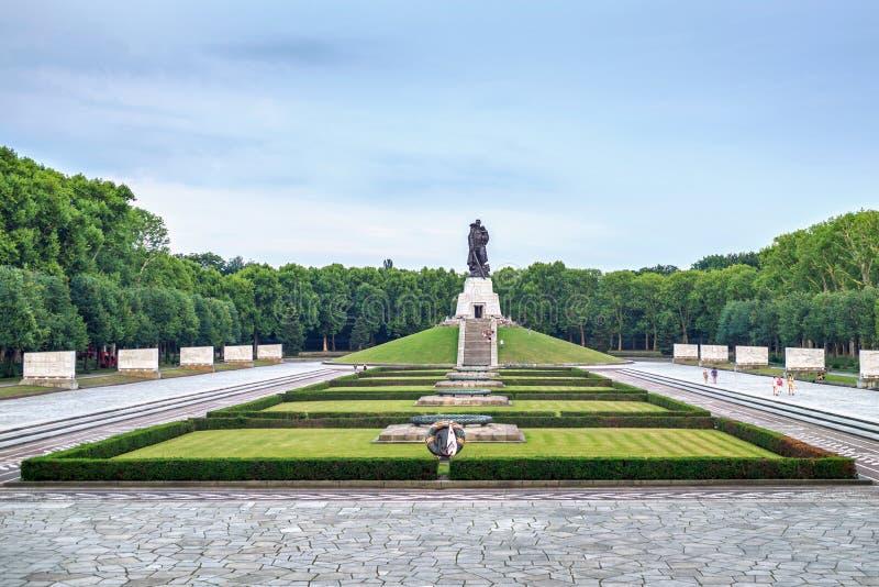 Parque de Treptower fotografía de archivo libre de regalías