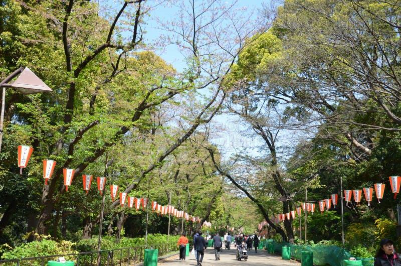 Parque de Ueno imagenes de archivo