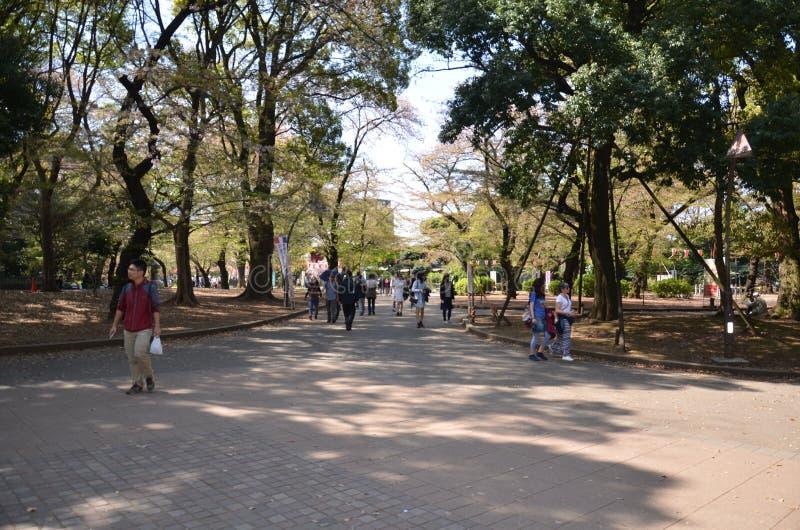 Parque de Ueno Tokio Japón fotografía de archivo libre de regalías