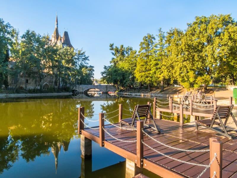 Parque de Varosliget, Budapest, Hungría fotografía de archivo libre de regalías