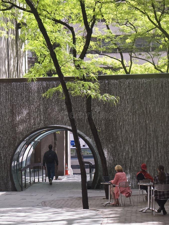 Parque de Waterwall imagem de stock