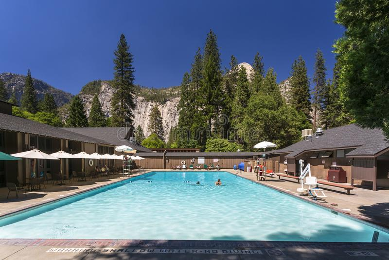 Parque de Yosemite Nacional imagem de stock