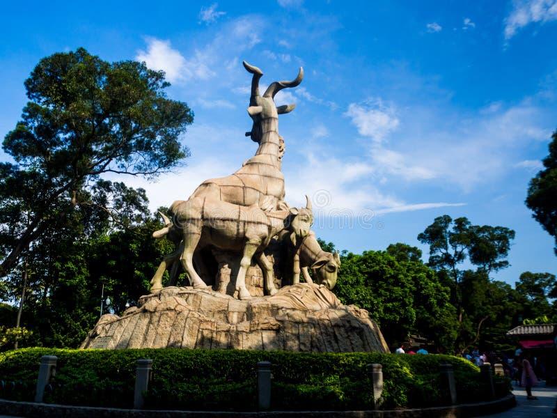 Parque de Yuexiu, cidade de Guangzhou, China fotos de stock