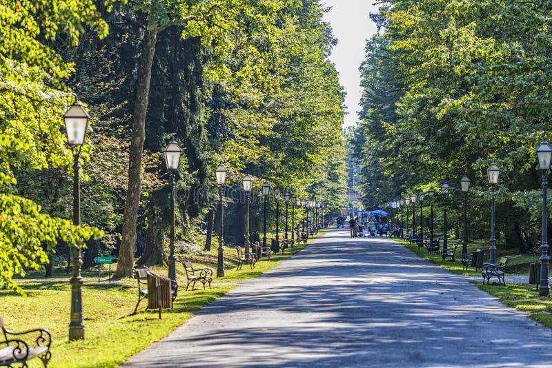 Parque de Zagreb Maksimir fotografía de archivo libre de regalías