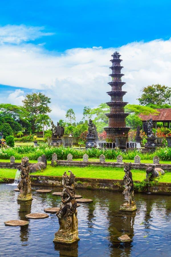 Parque del agua de Tirta Gangga, Bali fotografía de archivo libre de regalías