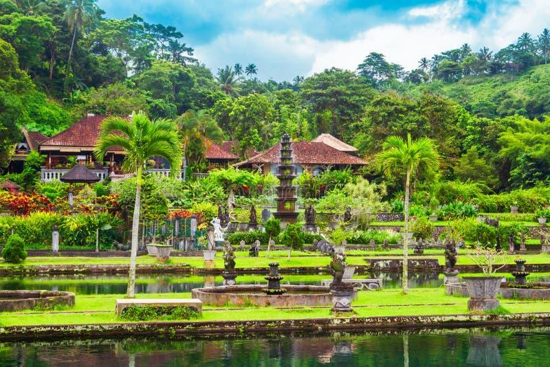 Parque del agua de Tirta Gangga, Bali fotos de archivo libres de regalías