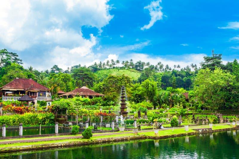Parque del agua de Tirta Gangga, Bali imágenes de archivo libres de regalías