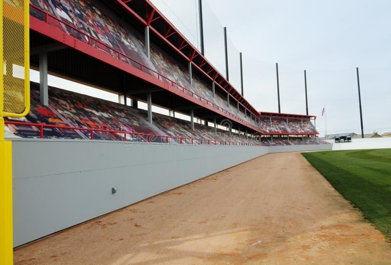 Parque del béisbol foto de archivo libre de regalías