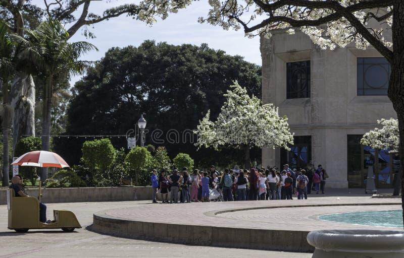 Parque del balboa fotos de archivo libres de regalías