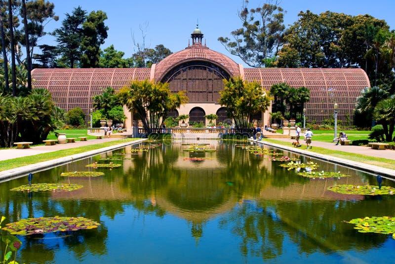 Parque del balboa en San Diego fotos de archivo libres de regalías