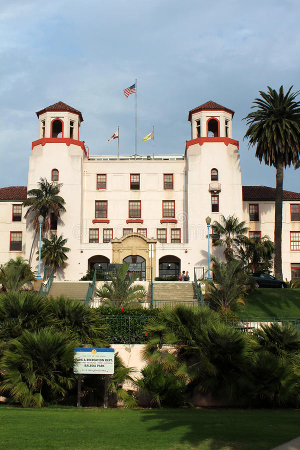 Parque del balboa, San Diego fotos de archivo libres de regalías